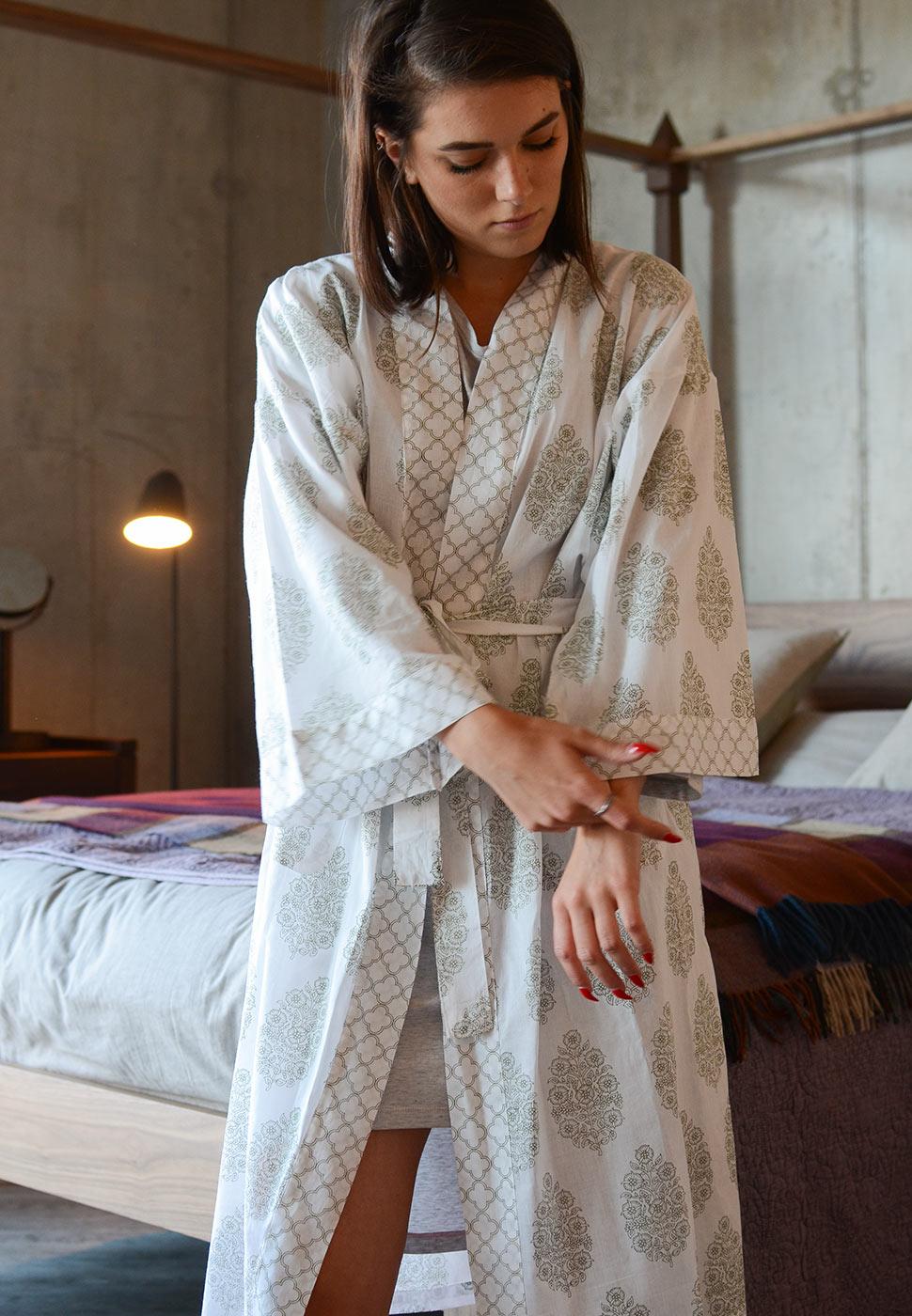ivory-&-green-block-print-robe
