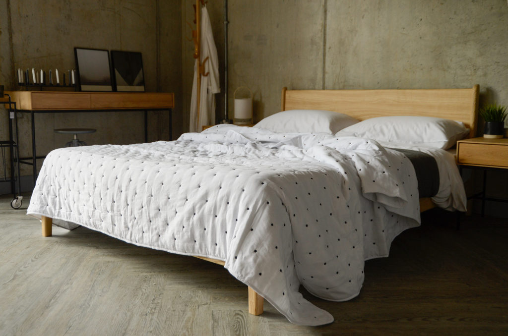 soft quilted bedspread