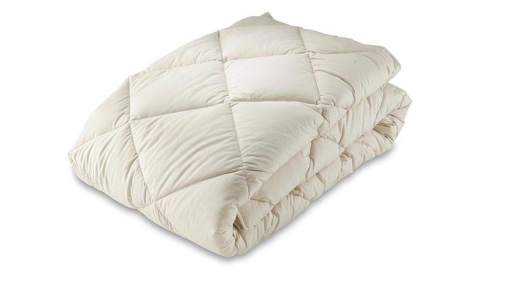 organic cotton and kapok filled duvet