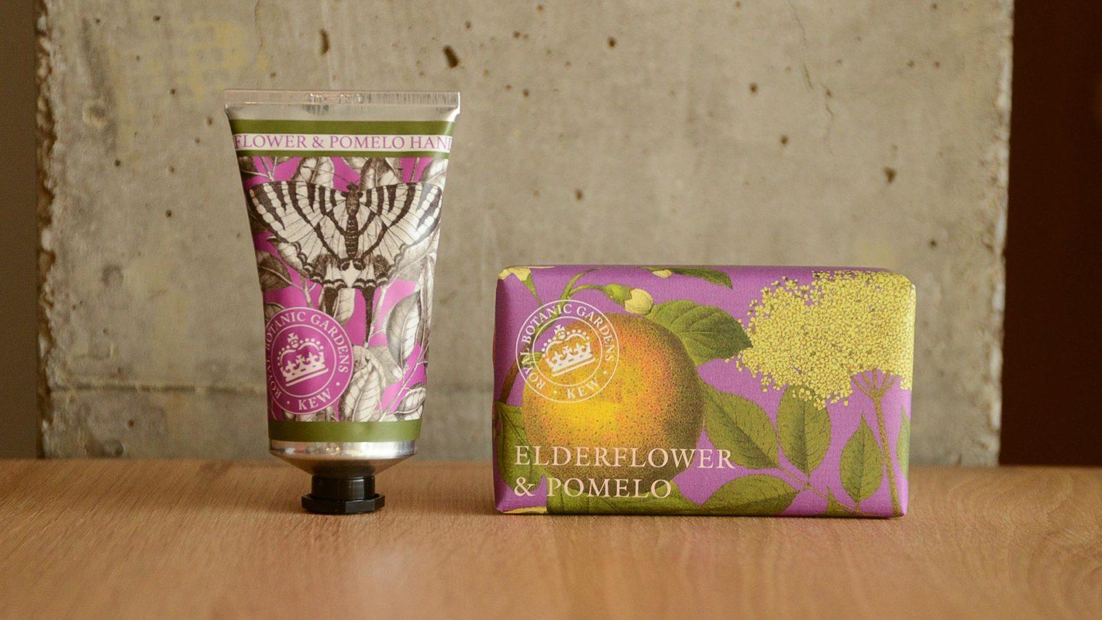 Kew Gardens hand care set elderflower & pomelo