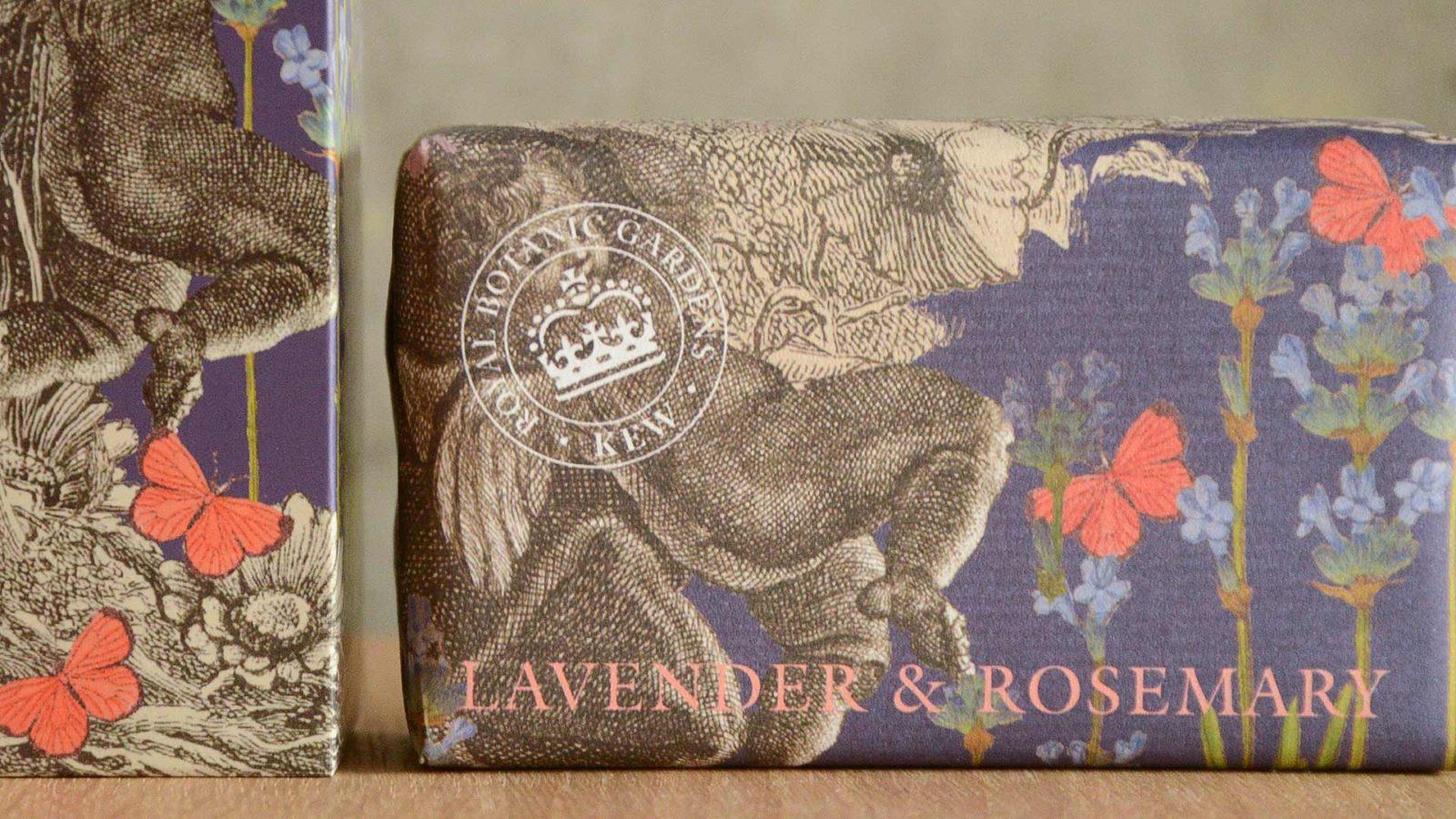 Kew Gardens hand care set lavender & rosemary