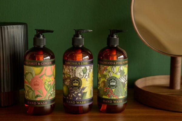 Kew gardens luxury scented liquid soaps