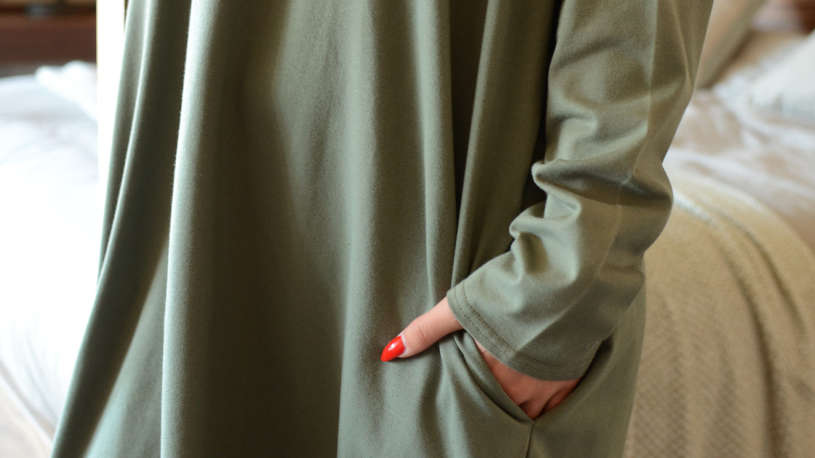 khaki-lounge-wear-slouch-dress-pocket