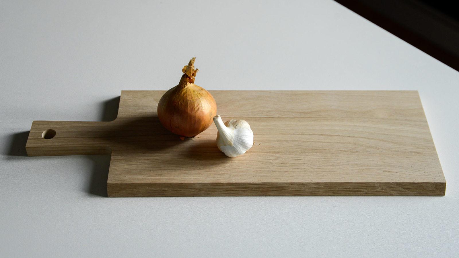 oak serving board