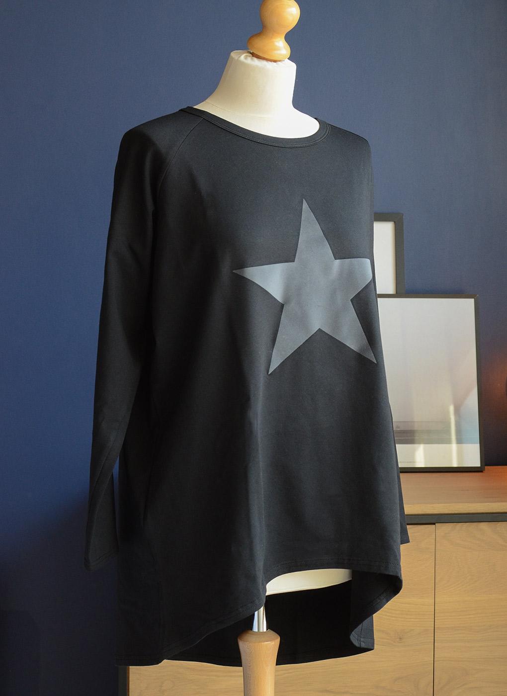 large-star-lounge-top-grey-&-black