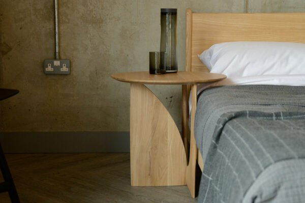 Ethnicraft modern bedside table