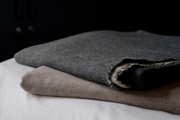 luxury linen and merino throws