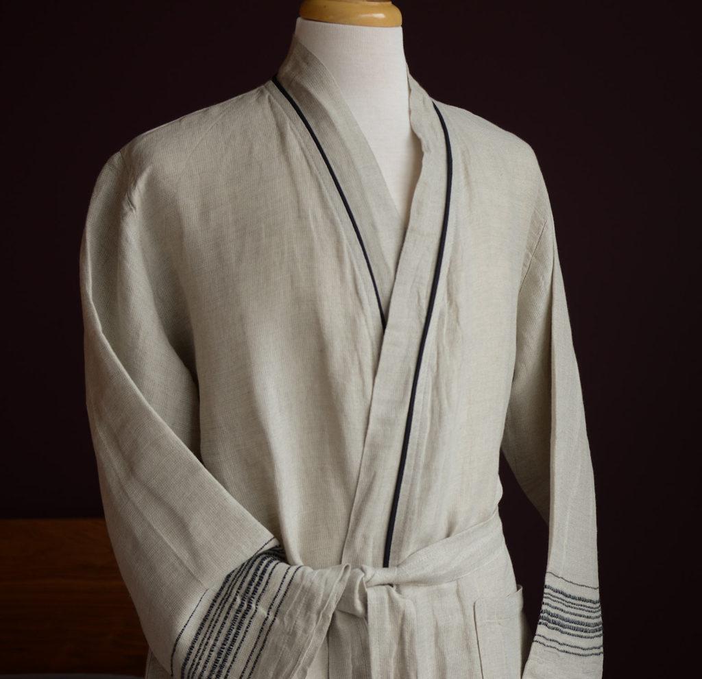 linen rich-robe