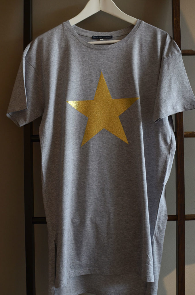 loungewear-star-T-shirt-dress