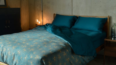 Hexagon - Luxury Dark Teal Bedding