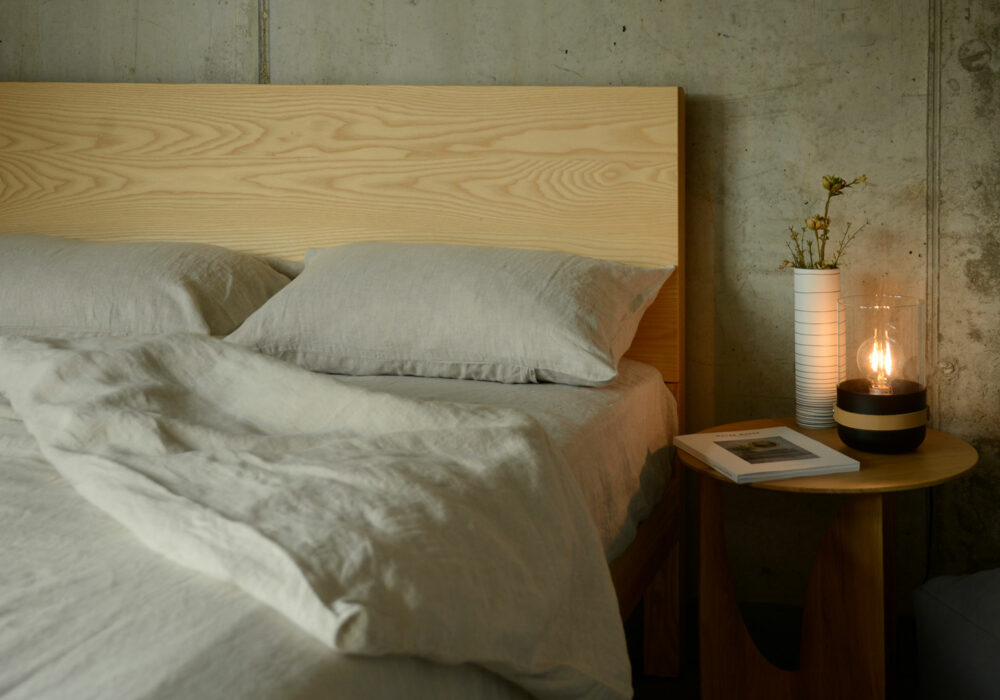 relaxed luxury ecru colour bedding 100% natural linen made from European flax