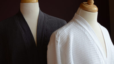 soft waffle-fabric-bath robes