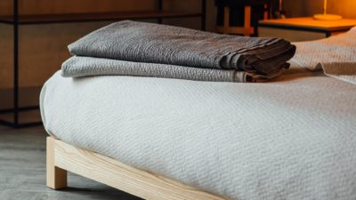 Diamond texture bedspreads