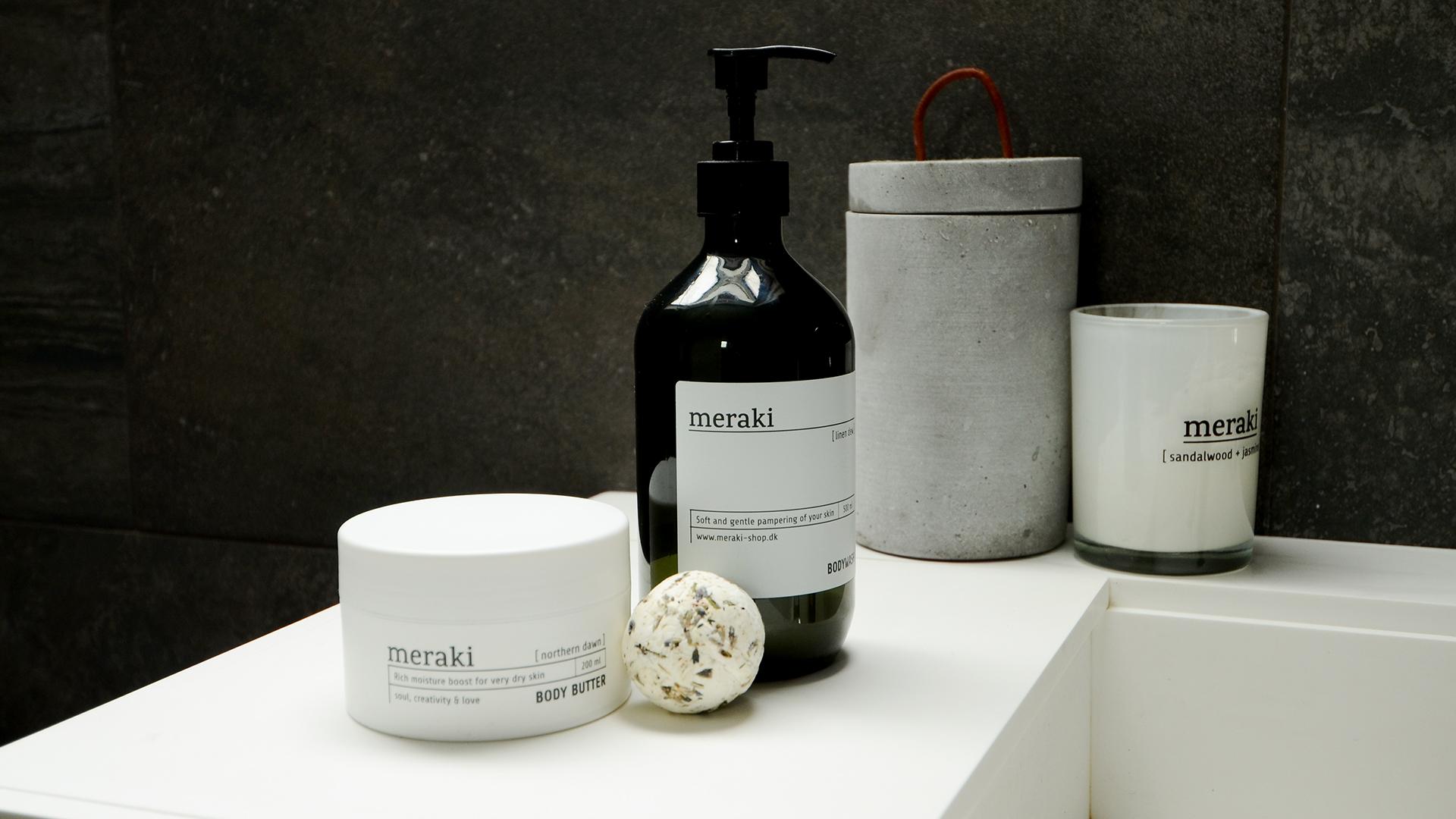 meraki toiletries - Christmas gift ideas