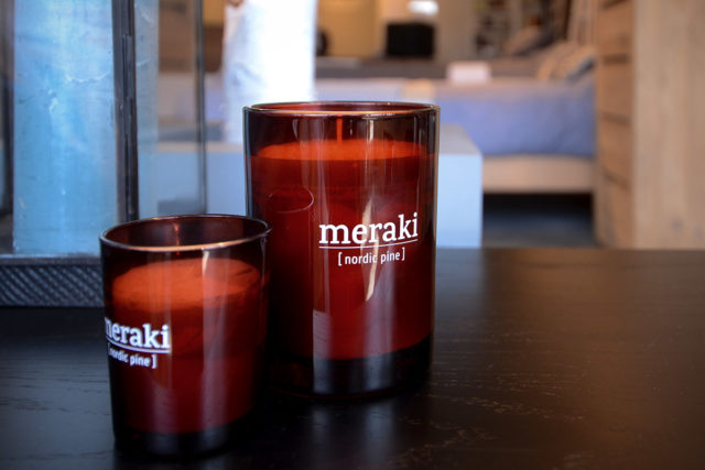 Nordic collection of scented candles