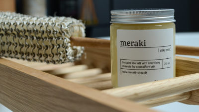 meraki exfoliator and scrub