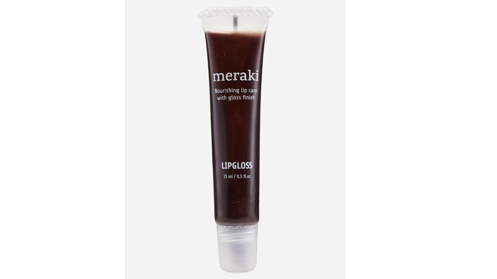 chocolate shimmer nourishing lip gloss