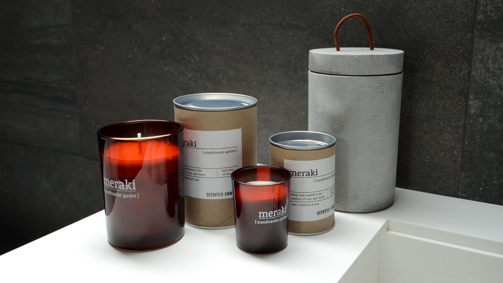 meraki nordic candles