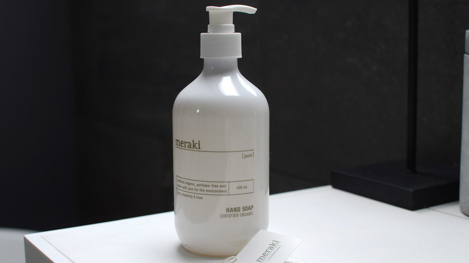meraki certified organic hand soap