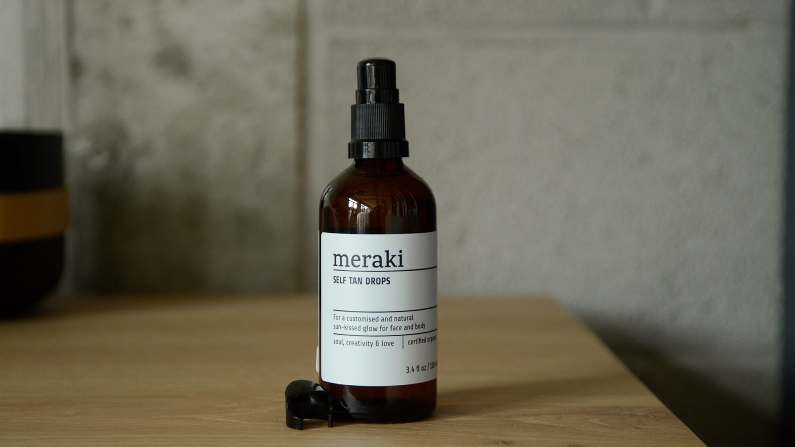 Meraki organic tanning drops