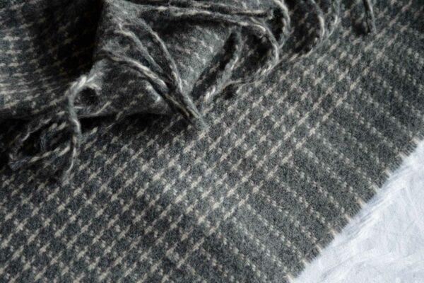 luxury grey blanket
