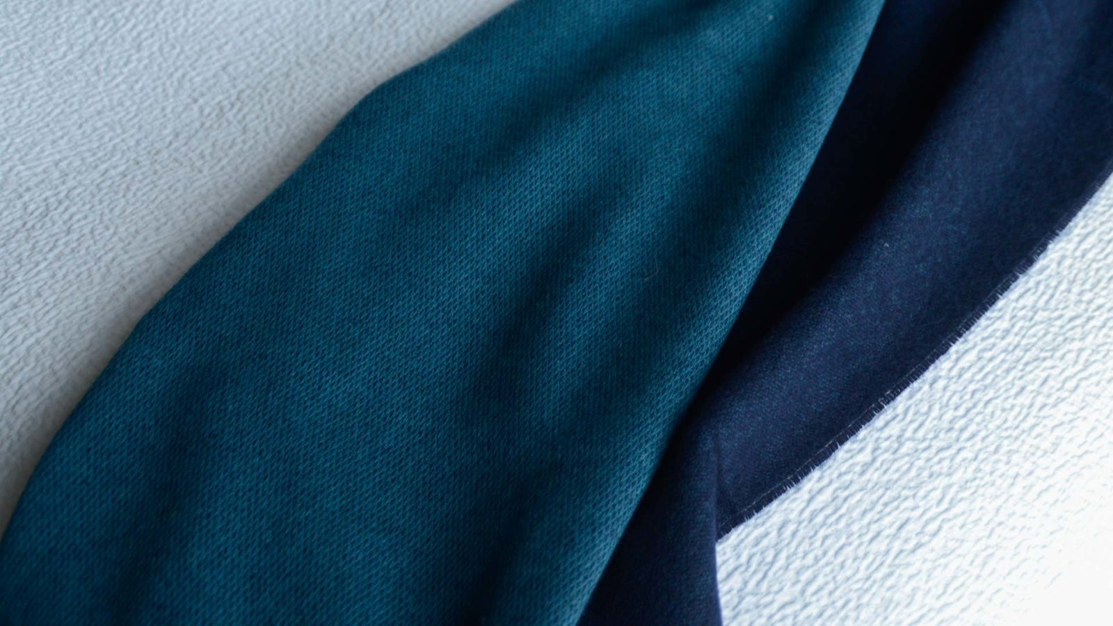 sapphire blue throw