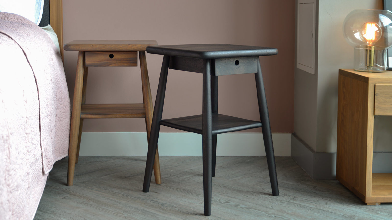 Mid Century Style Wooden Tables - Meh Wood