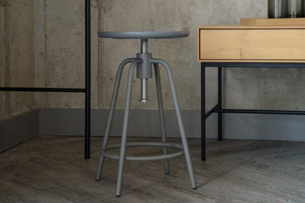 mid grey stool