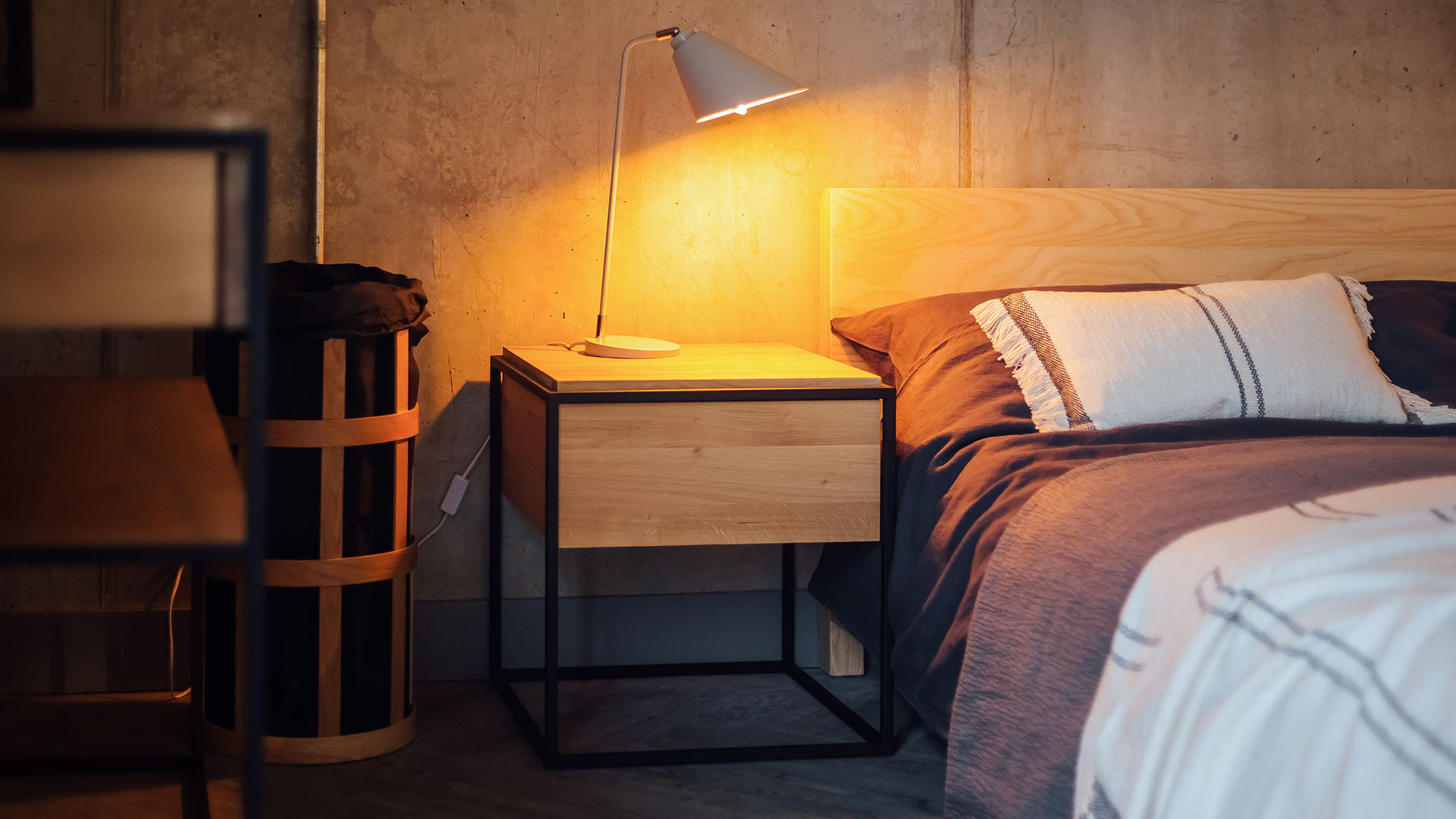 Monolit Bedside Tables Ethnicraft Natural Bed Company
