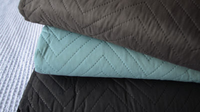 new chevron pattern bedspreads stack