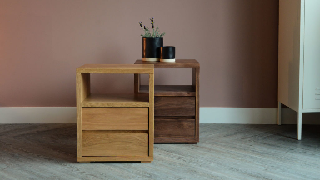 bedside tables from Natural Bed Company