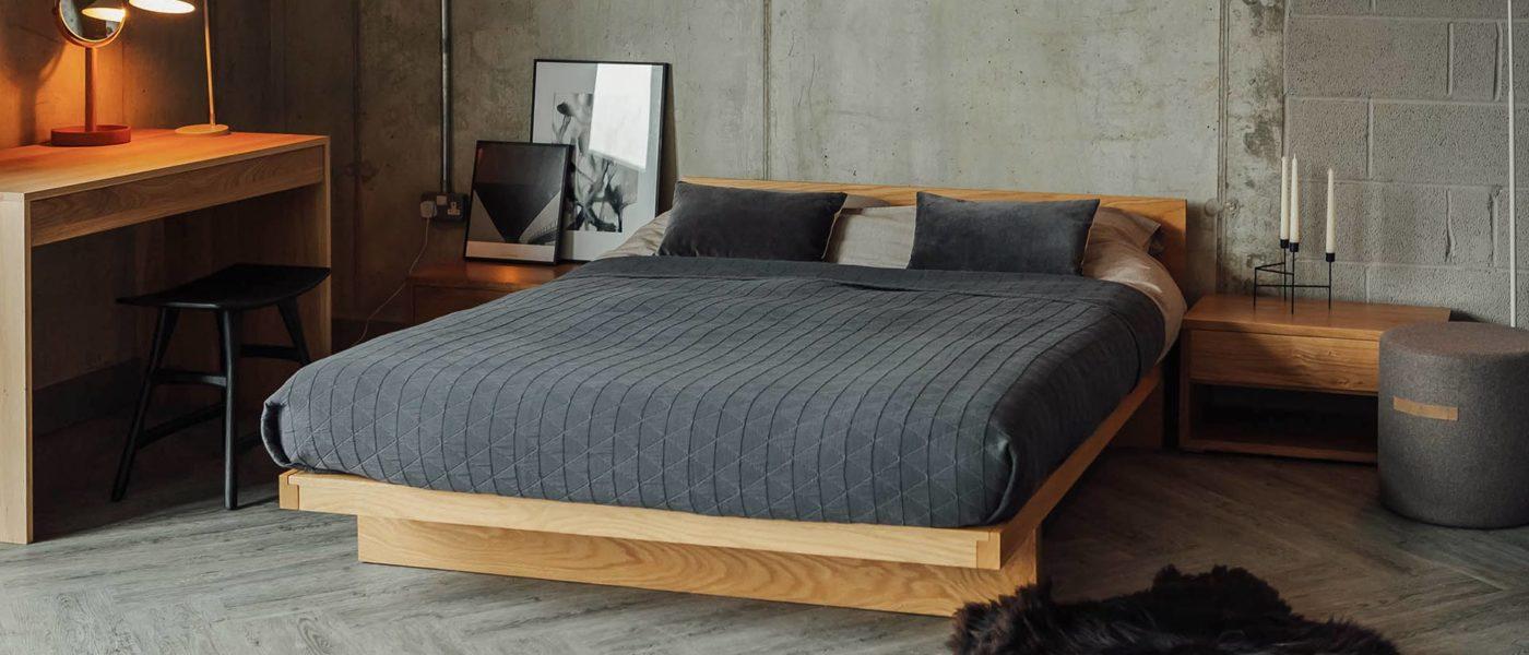 Our Modern Solid Oak Bedroom Furniture Blog Natural Bed Company