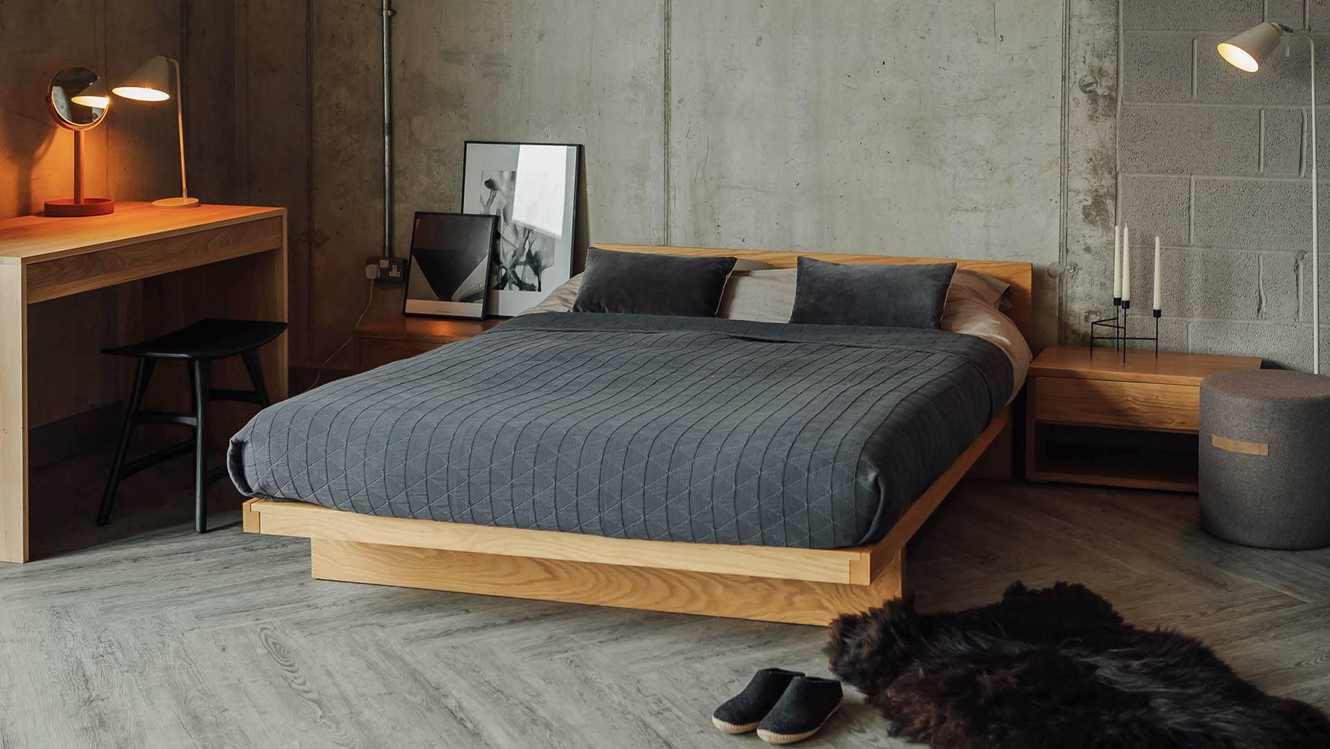 Our Modern Solid Oak Bedroom Furniture  Blog  Natural Bed