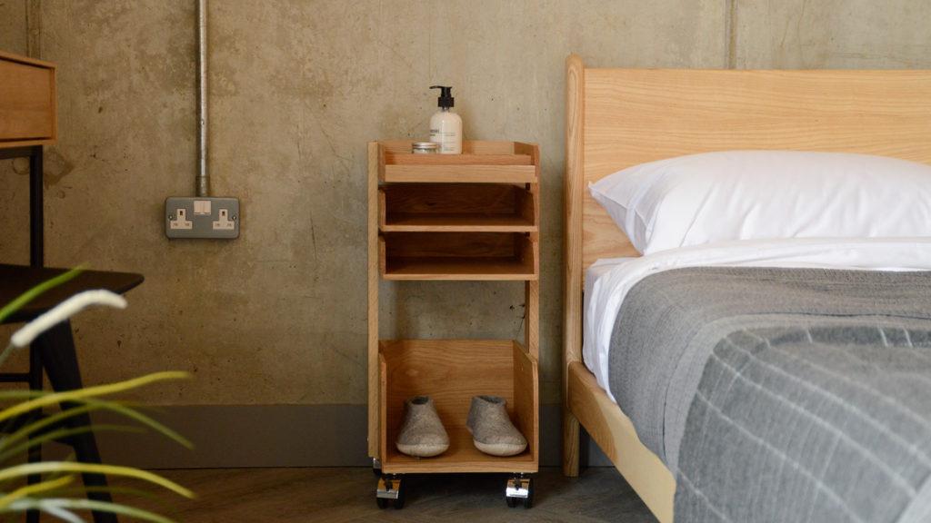 bedside storage unit