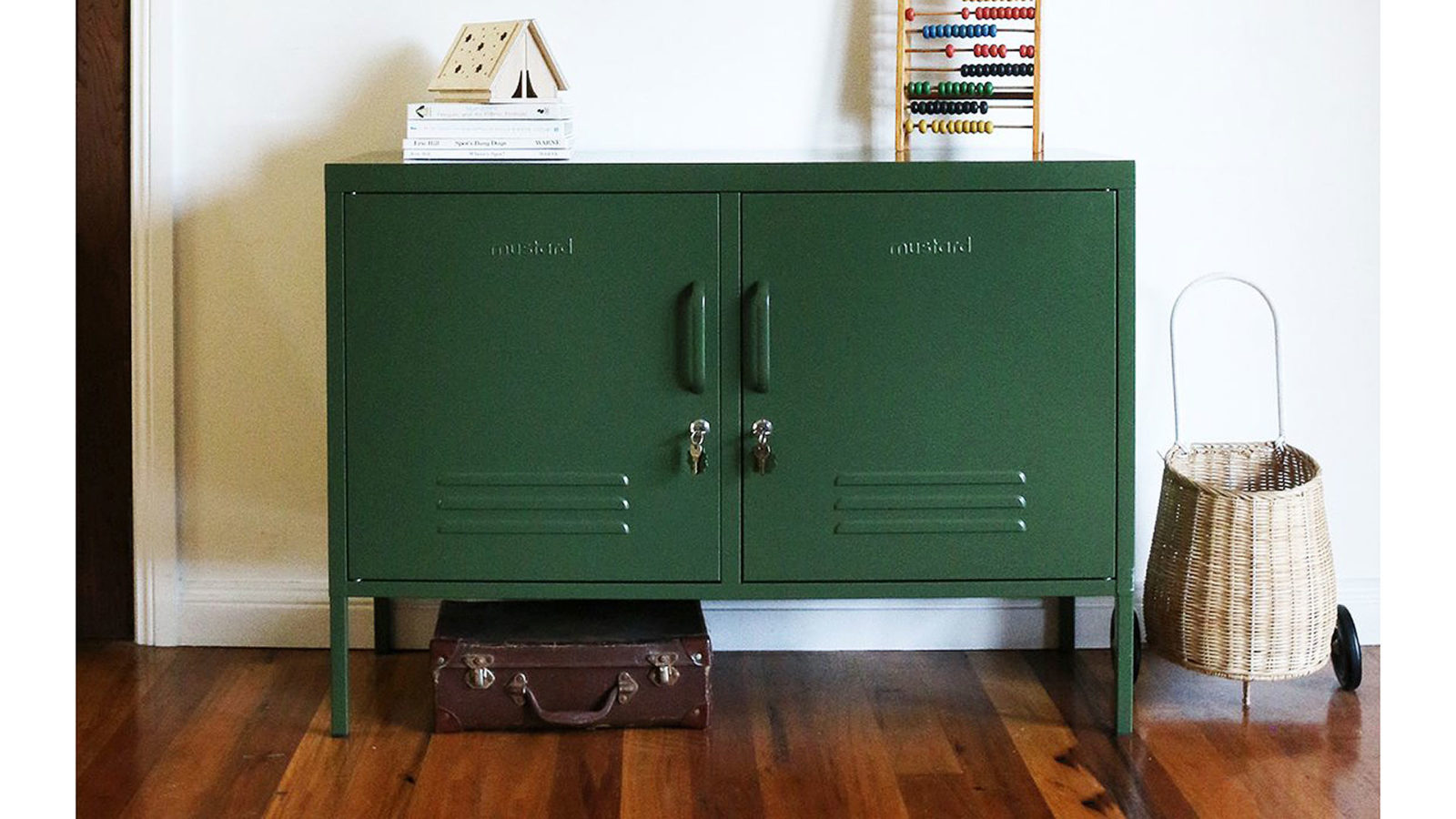 Sideboard Locker in olive green