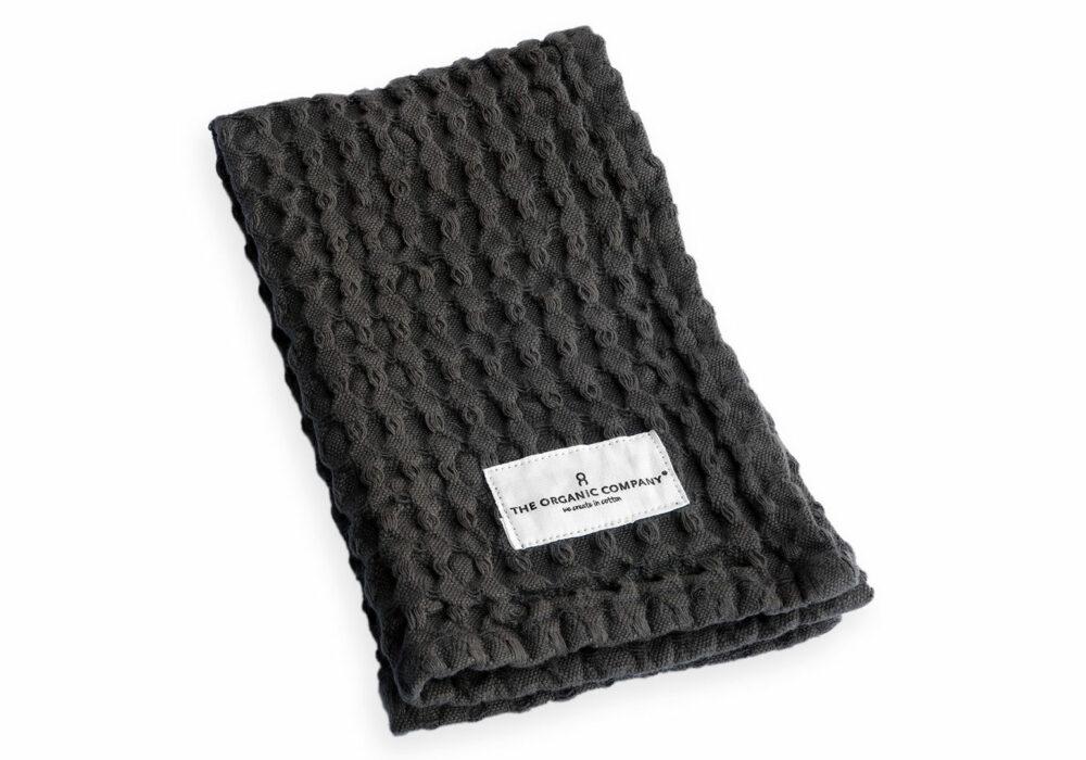GOTS certified organic cotton waffle towels
