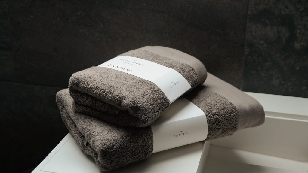 GOTS Certified 100% organic cotton towels