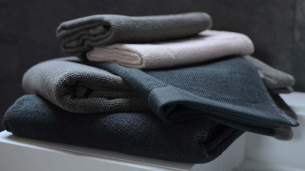 Soil Association certified organic cotton terry-weave towels