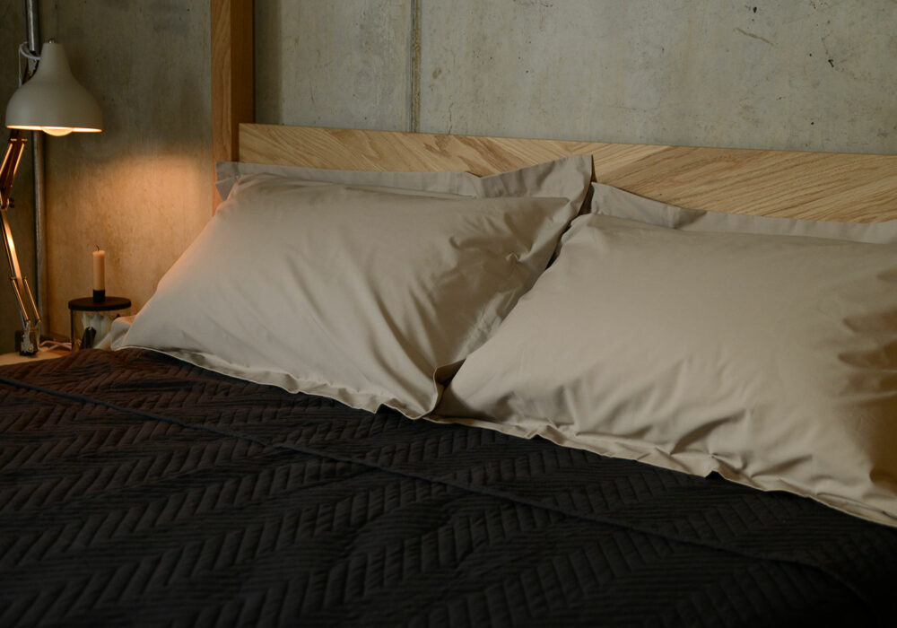 easy care oxford pillowcases in cotton percale