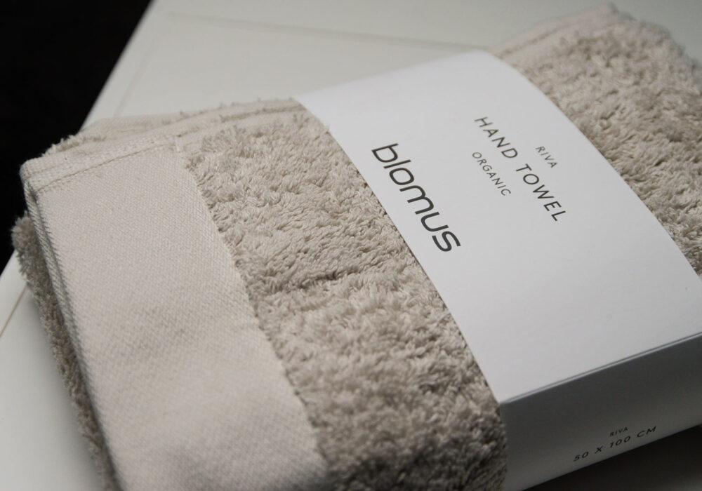 GOTS Certified 100% organic cotton hand towel