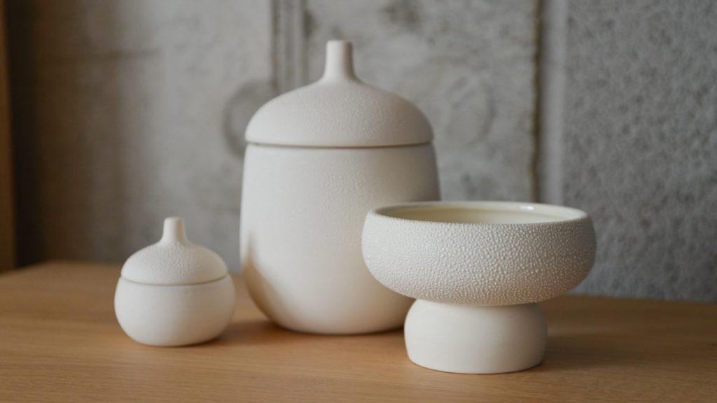 interior design pearl ceramic