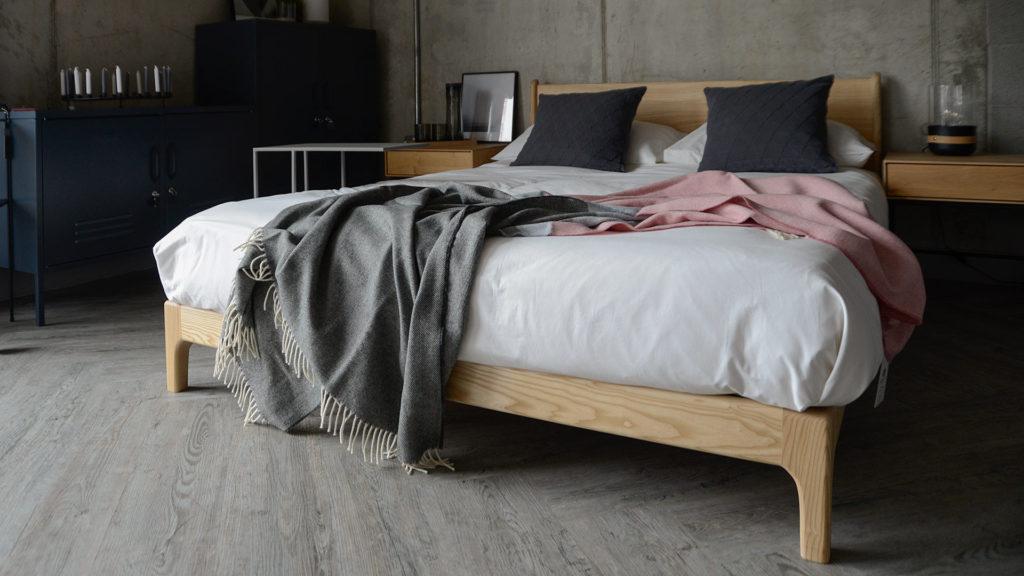 modern pure lambswool blanket