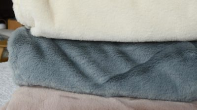 plush-faux-fur-throws-cream-ice-blue-and-dusty-pink
