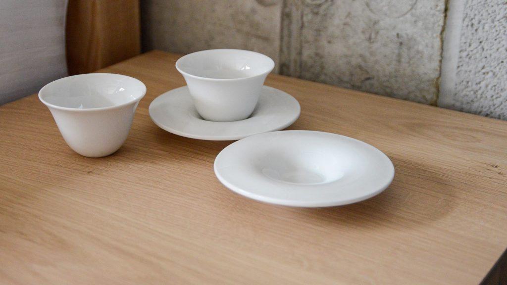 porcelain espresso set