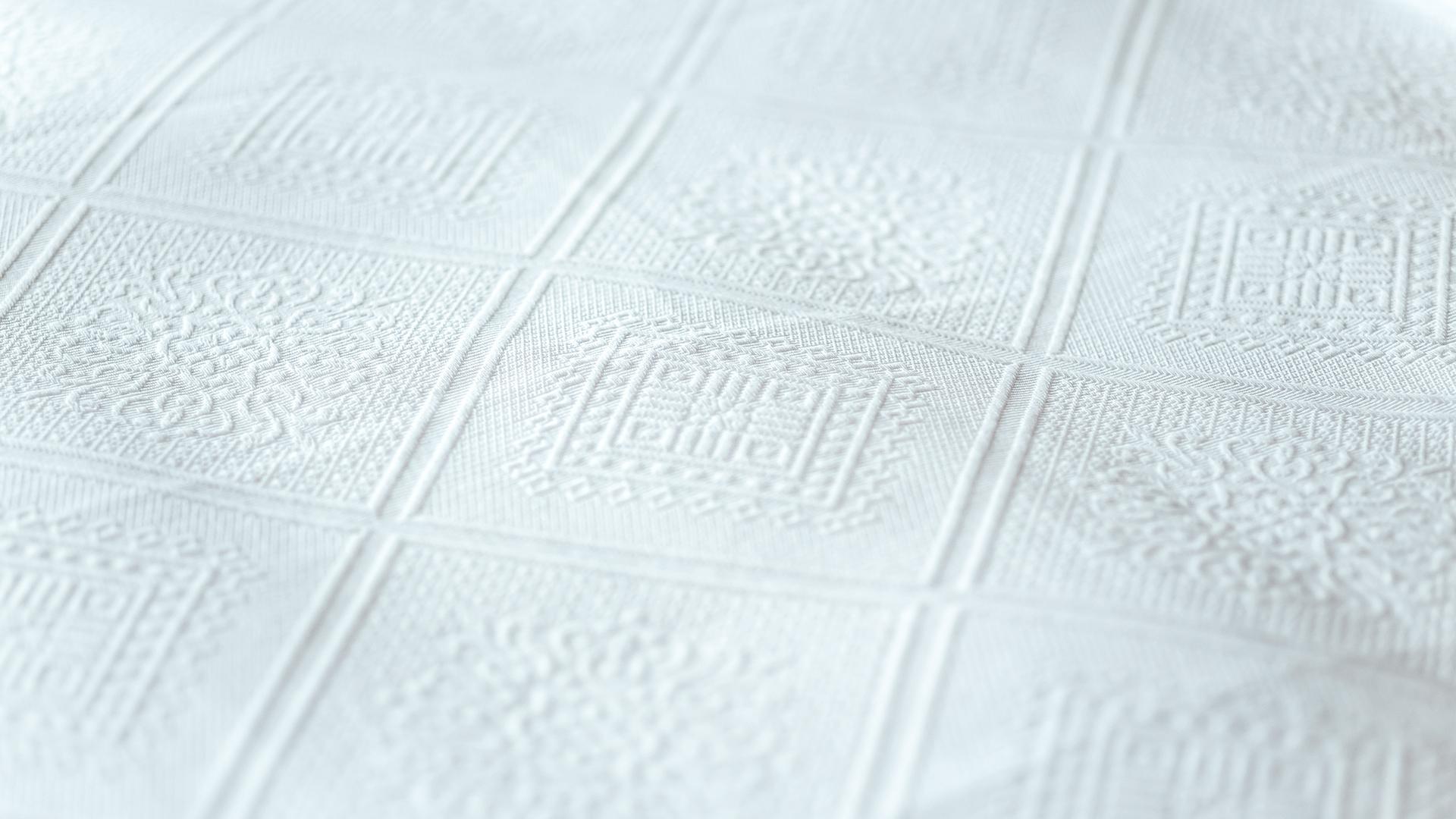 Porto white cotton rich bedspread
