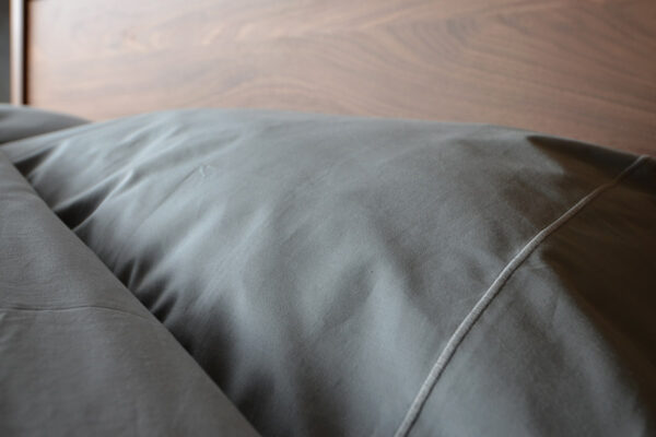 storm grey pure cotton bedding