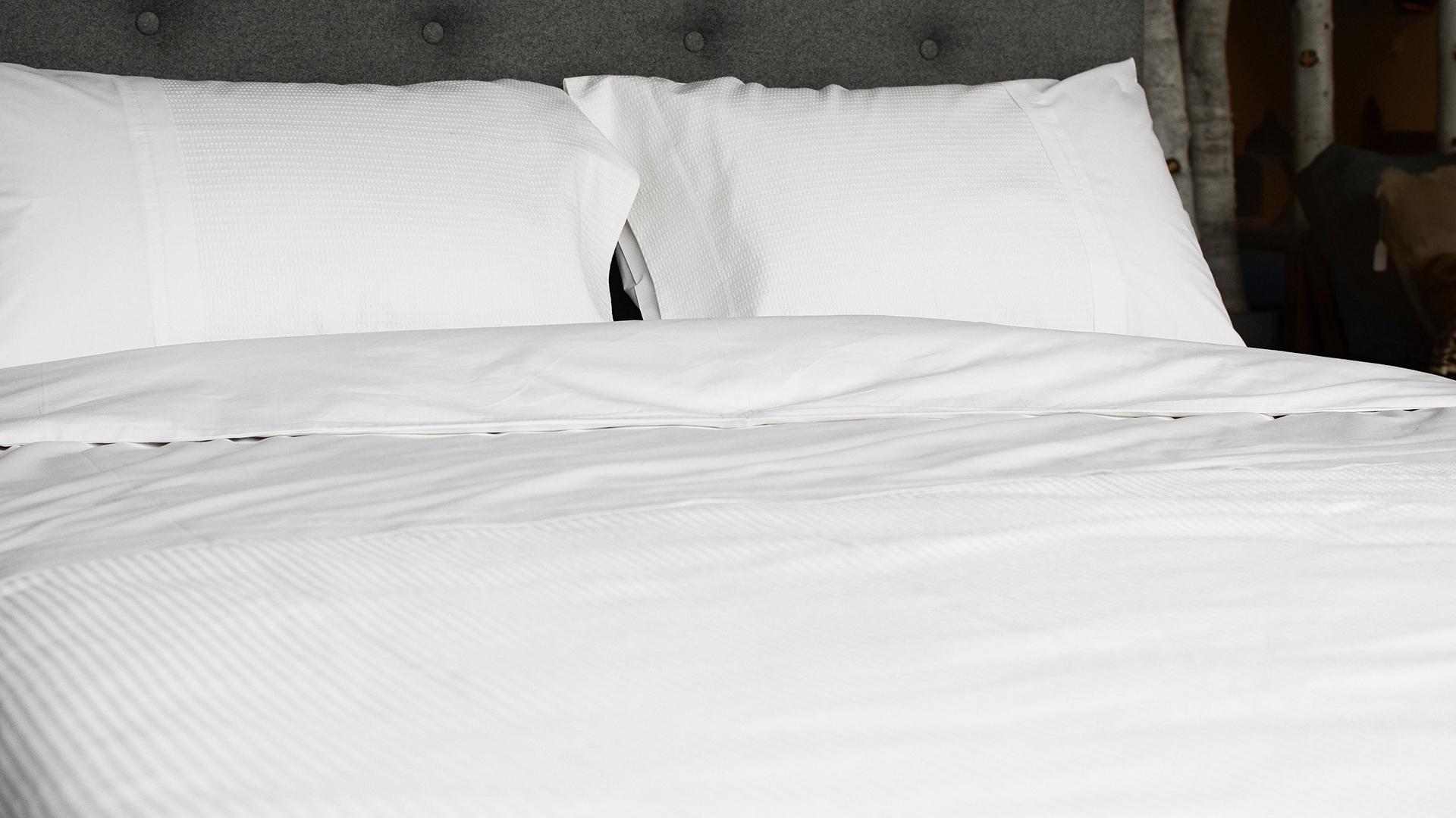 portofino waffle bedding