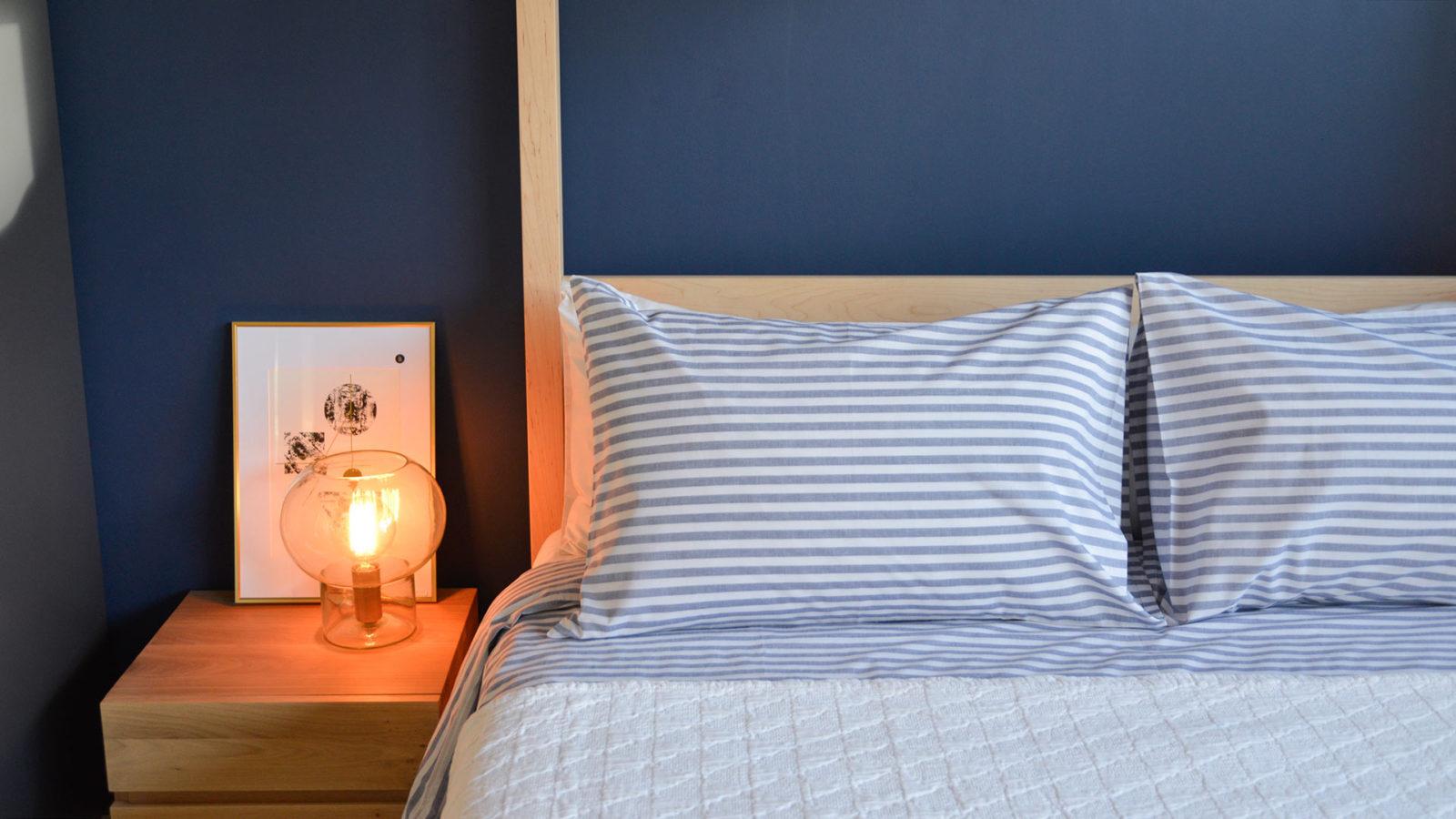 pyjama-stripe-cotton-duvet-set