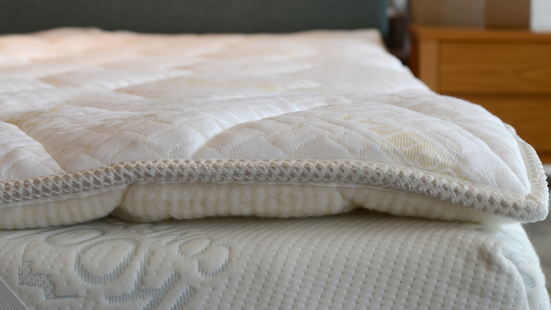 premium pad certifiled products wool sleep cover cotton my with pads covering organic myorganicsleep mattress
