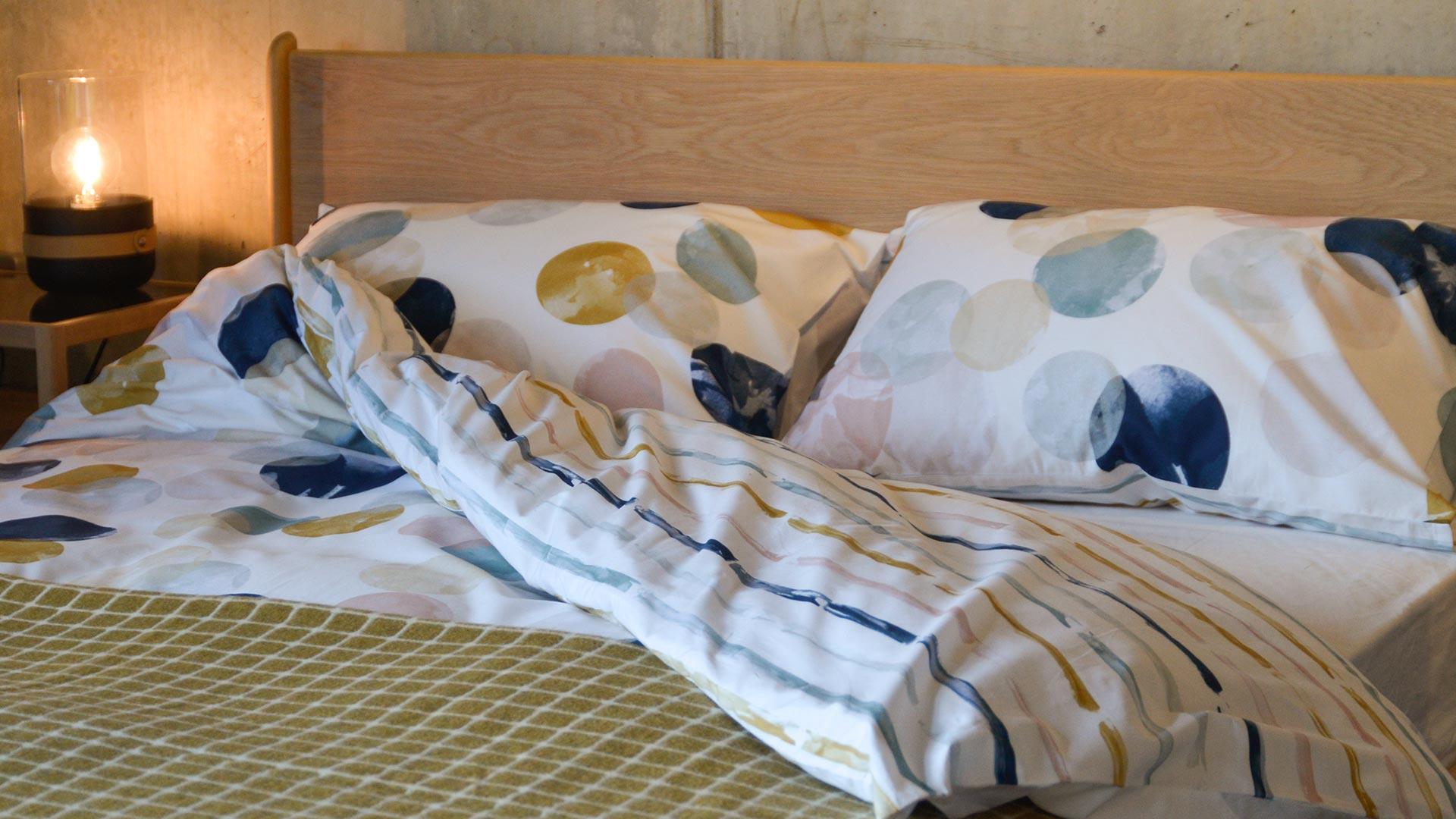Modern Reversible Cotton Duvet Sets Bedding Natural Bed Company